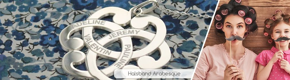 Halsband Arabesque
