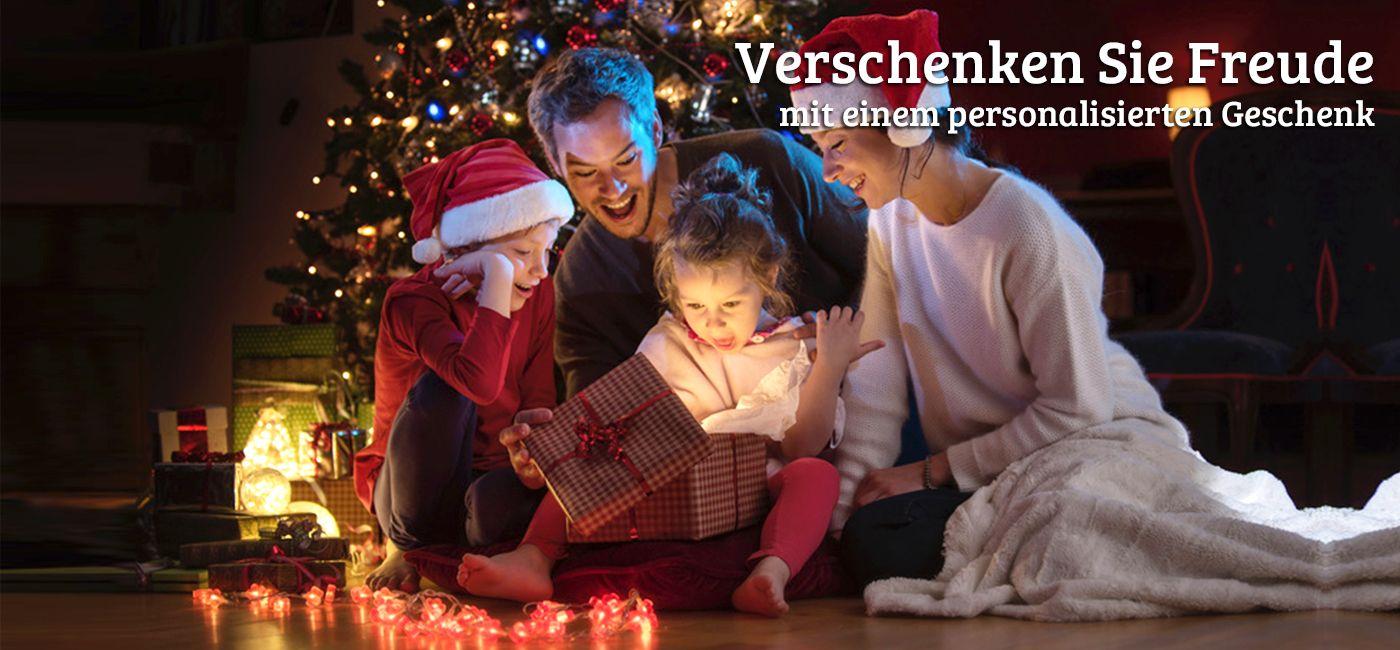 Personalisierte Weihnachten