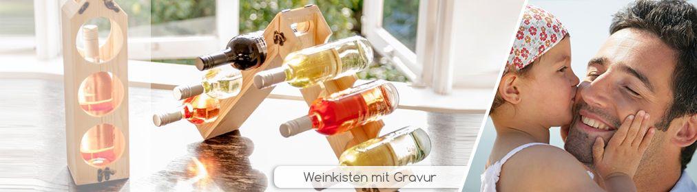 Weinkisten zum Vatertag