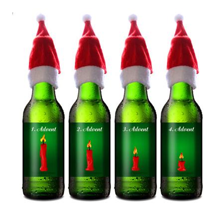 der bier adventskranz ein pers nliches geschenk als unikat geschenkegarten
