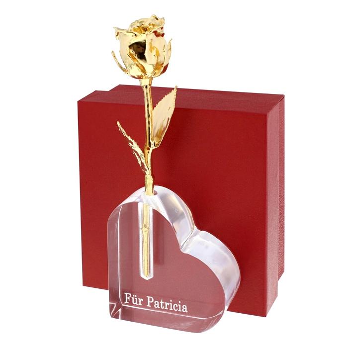 design blumenvase mit gravur ein pers nliches geschenk als unikat geschenkegarten. Black Bedroom Furniture Sets. Home Design Ideas