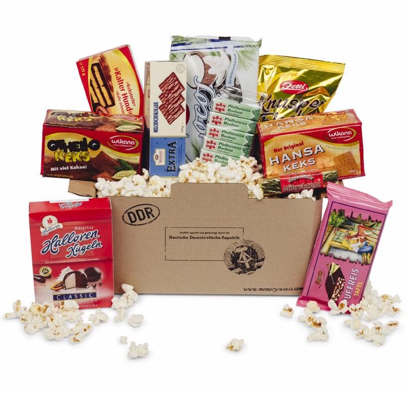 Ost Süßigkeiten-Paket Süß- und Kekswaren, ein persönliches Geschenk ...