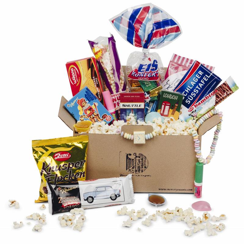 Einheits Süßigkeiten-Paket, ein persönliches Geschenk als Unikat ...