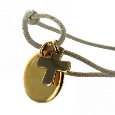 armband kreis mit kreuz ein pers nliches geschenk als unikat geschenkegarten. Black Bedroom Furniture Sets. Home Design Ideas