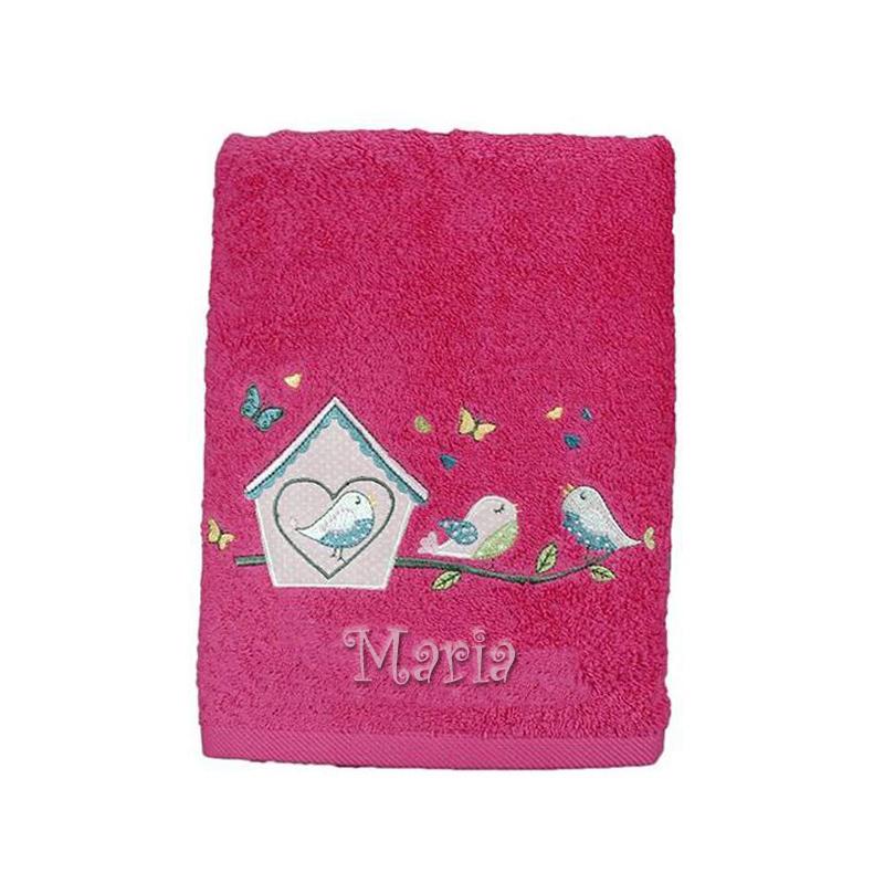 baby handtuch kleine v gel ein pers nliches geschenk als unikat geschenkegarten. Black Bedroom Furniture Sets. Home Design Ideas