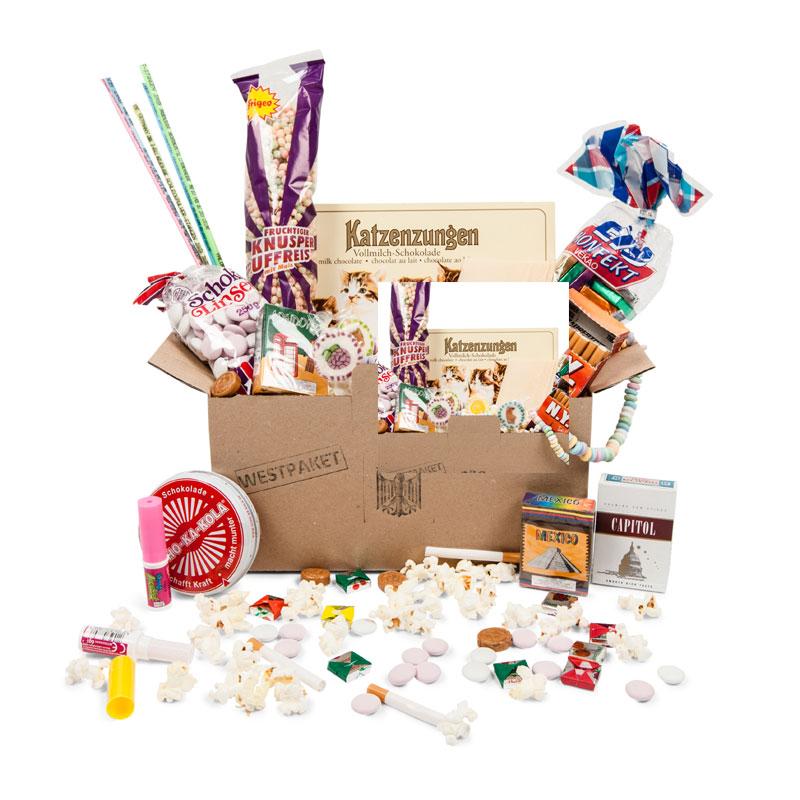 BRD Süßigkeiten-Paket (Westpaket), ein persönliches Geschenk als ...