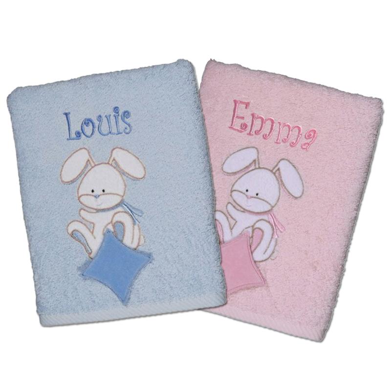 handtuch baby hase ein pers nliches geschenk als unikat geschenkegarten. Black Bedroom Furniture Sets. Home Design Ideas