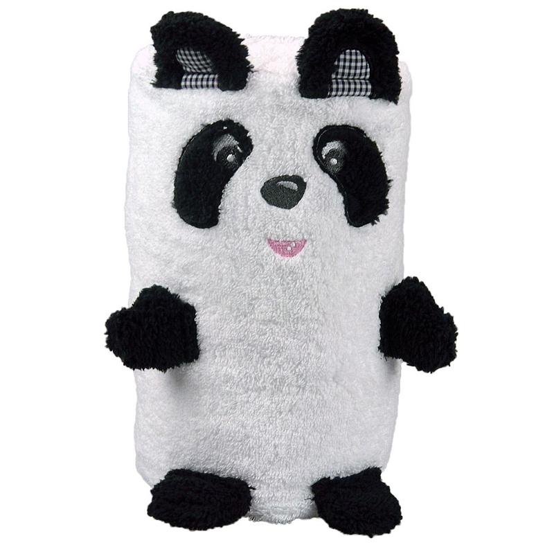 handtuch panda mit stickerei ein pers nliches geschenk als unikat geschenkegarten. Black Bedroom Furniture Sets. Home Design Ideas