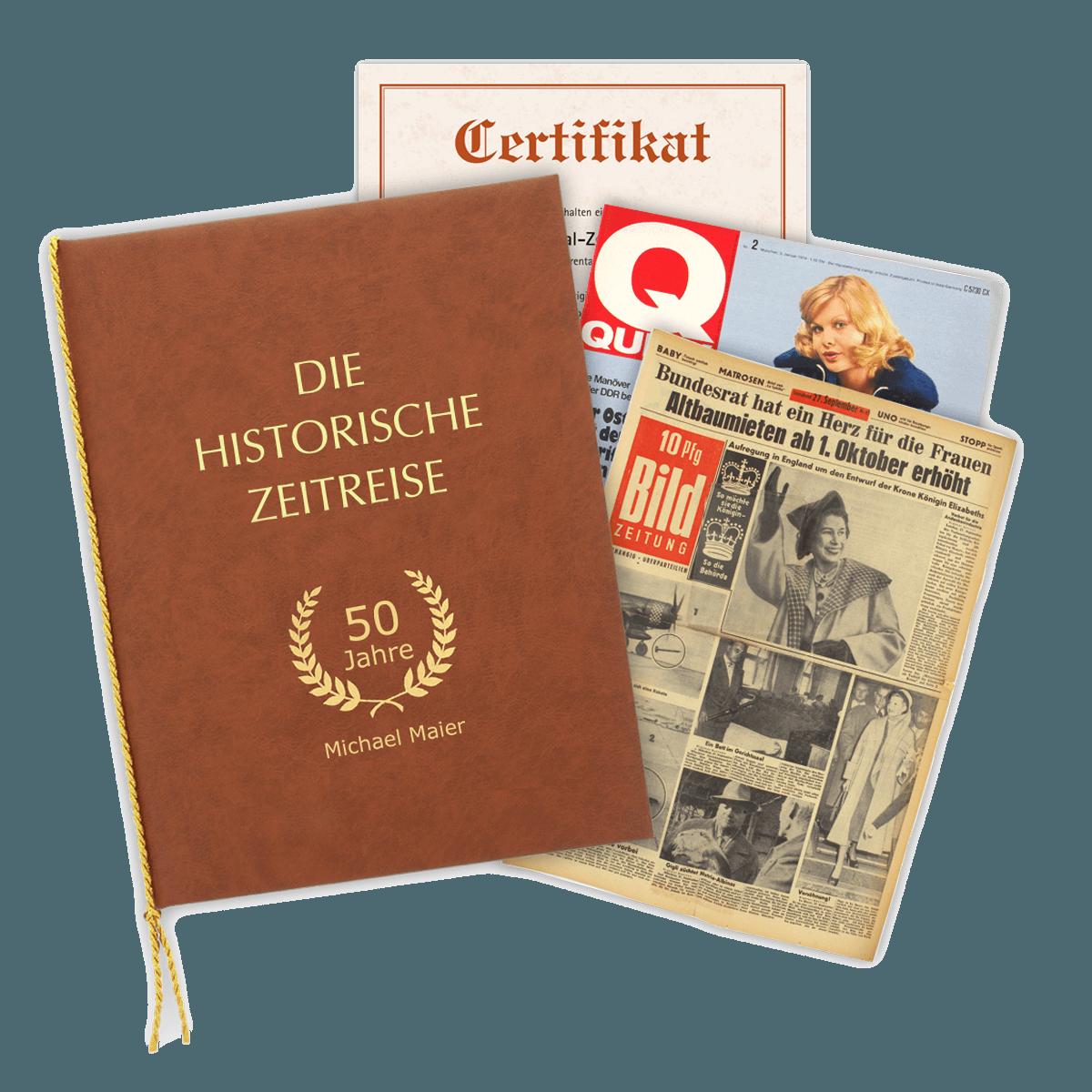 Original-Zeitung Geschenkset