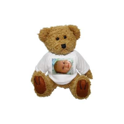 Teddyb r mit foto ein pers nliches geschenk als unikat geschenkegarten - Personalisiertes kuscheltier ...