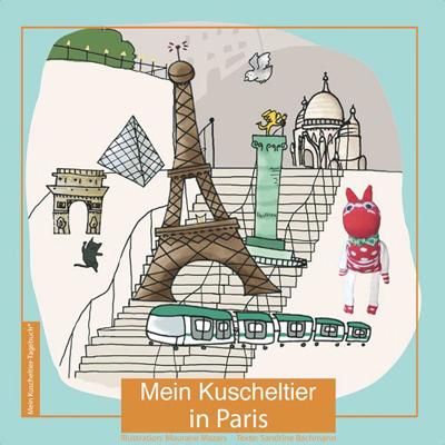 Mein kuscheltier in paris ein persnliches geschenk als - Personalisiertes kuscheltier ...