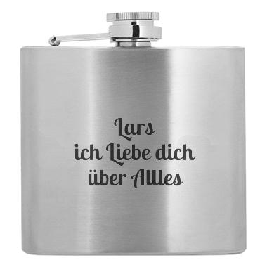 Personalisierter Flachmann
