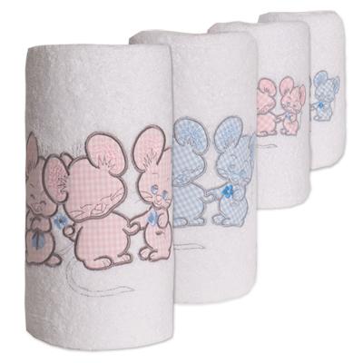 Personalisiertes Handtuch 3 Mäuse